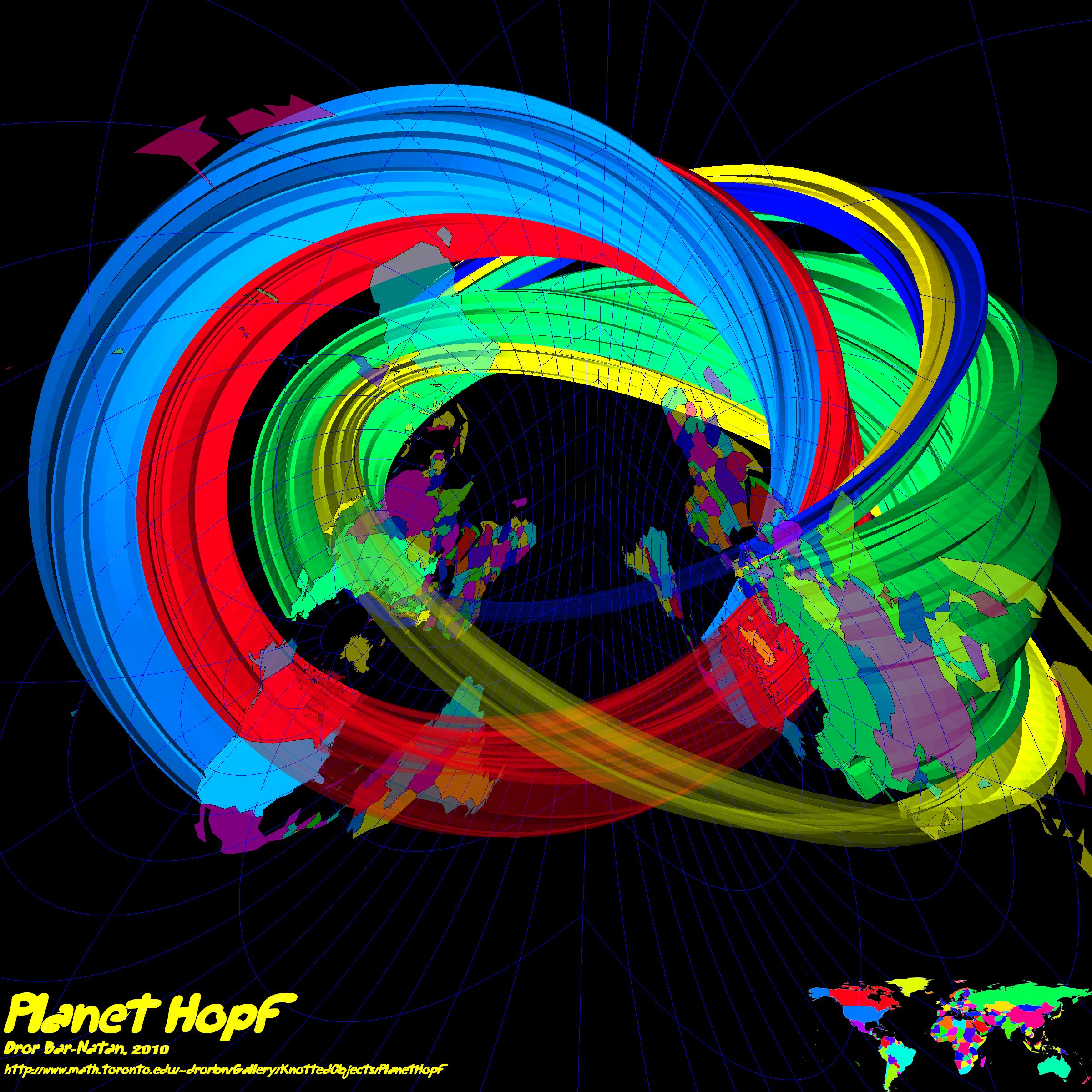 Planet Hopf